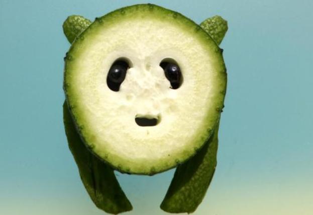 """创意蔬菜小动物""""出圈""""搞笑又卖萌的创意""""小动物"""""""